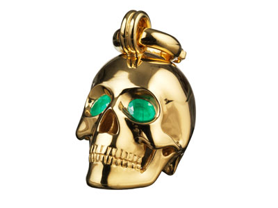 the-muses-kranio-human-skull-gold-emeralds-preview