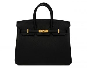 hermes birkin black bag