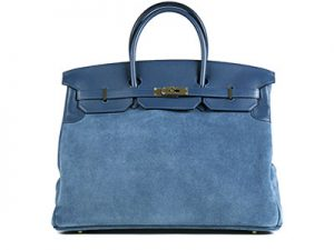hermes birkin grizzly blue