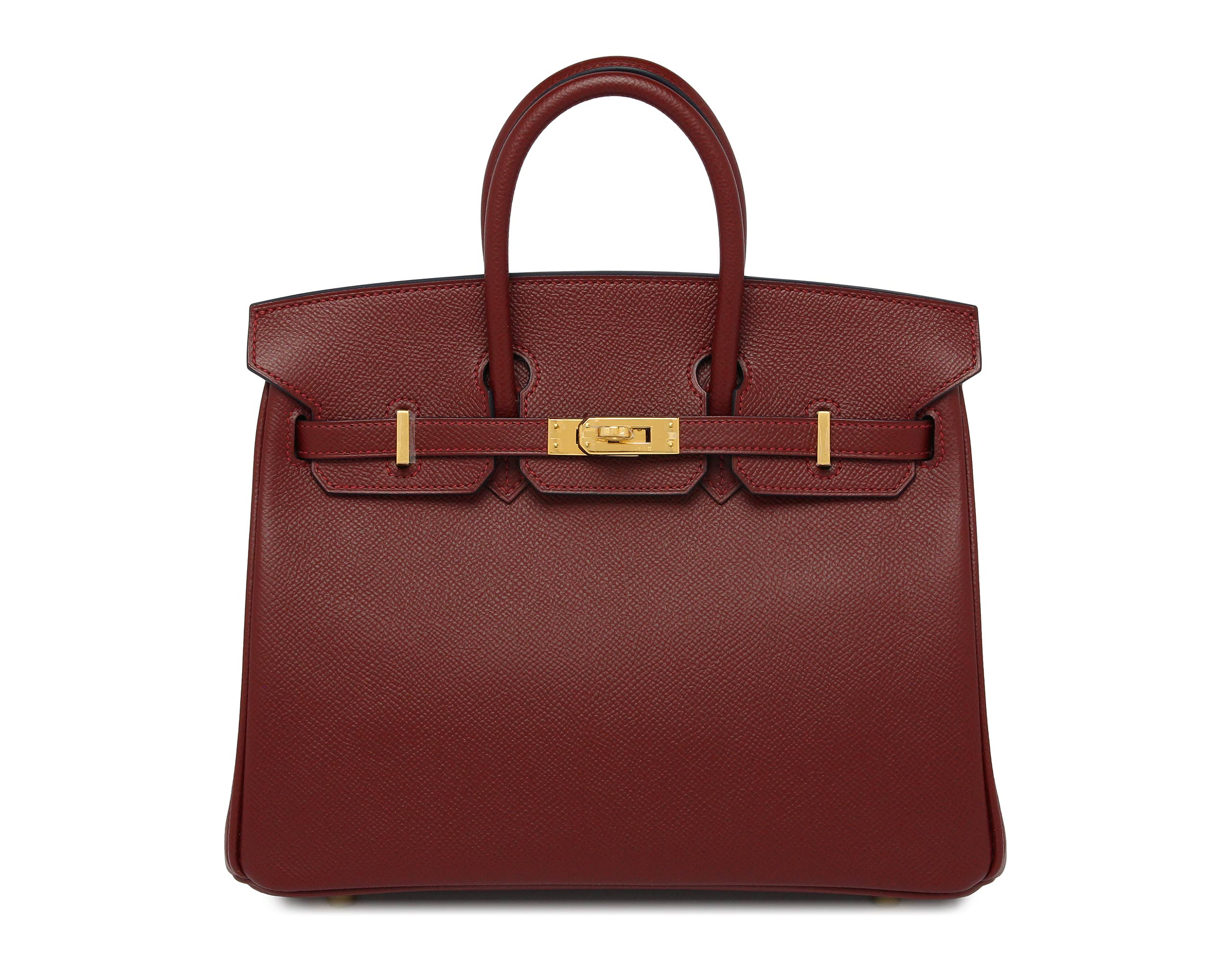Hermes Birkin Rouge & Blue Epsom with Gold