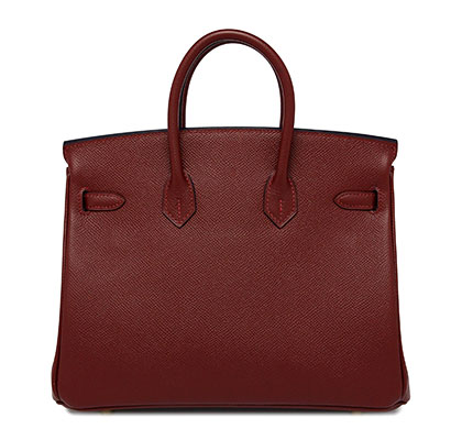 Hermes Birkin Rouge & Blue Epsom with Gold blue