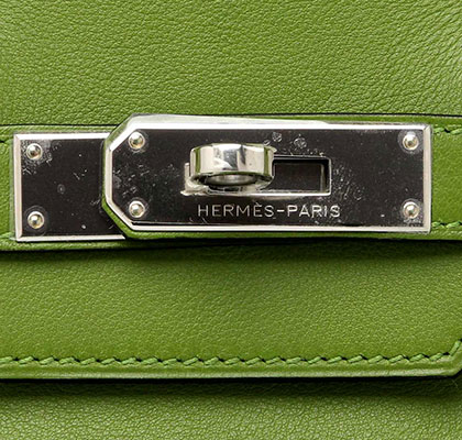 Hermes Birkin Vert Pelouse Switt with Palladium