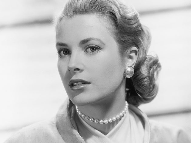 Movie star Grace Kelly