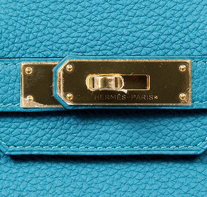 fake hermes leather purses - Hermes Birkin Turquoise 30cm, Togo with Gold Hardware