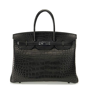 Hermes Birkin So Black Matt 35cm