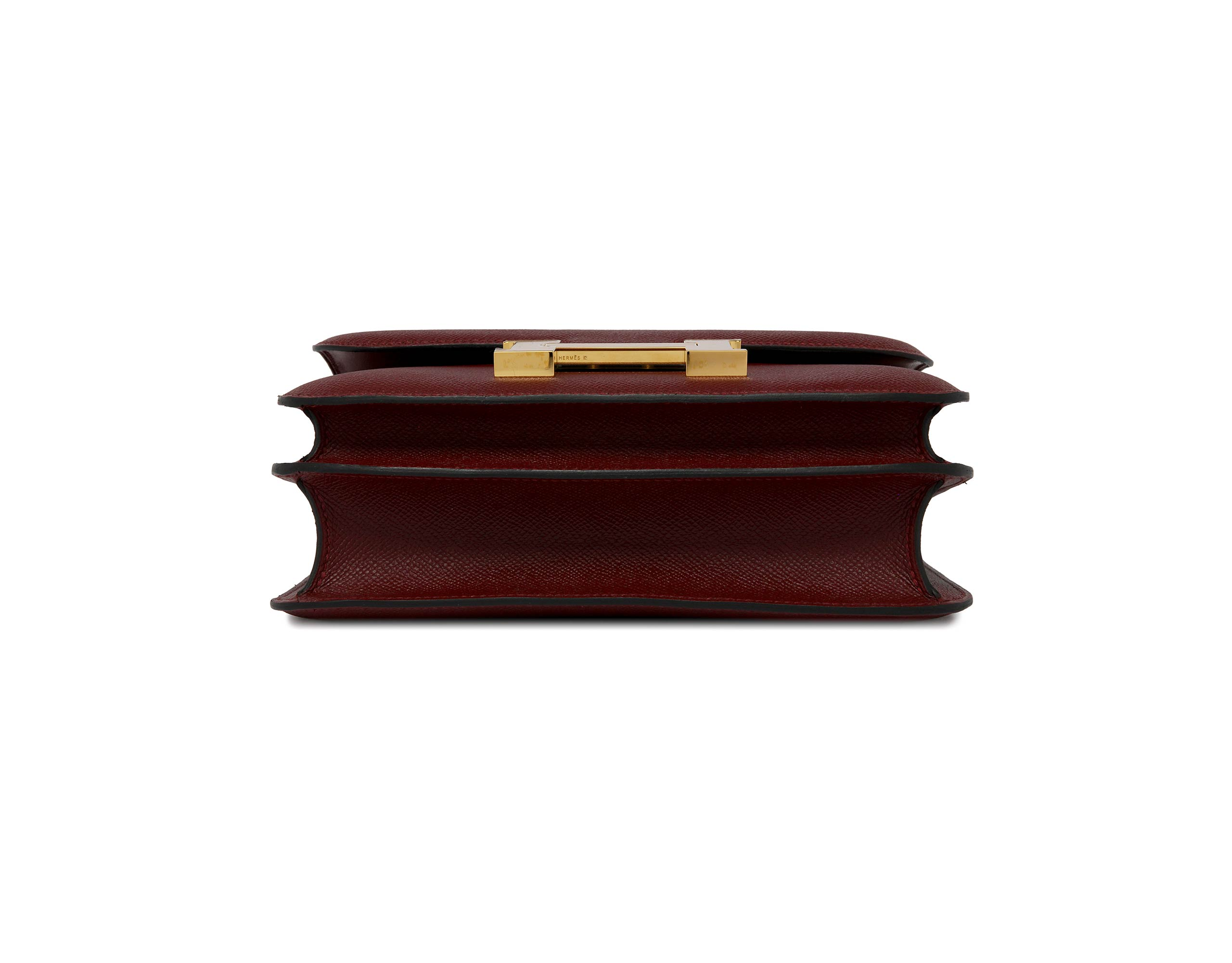 hermes red constance 24