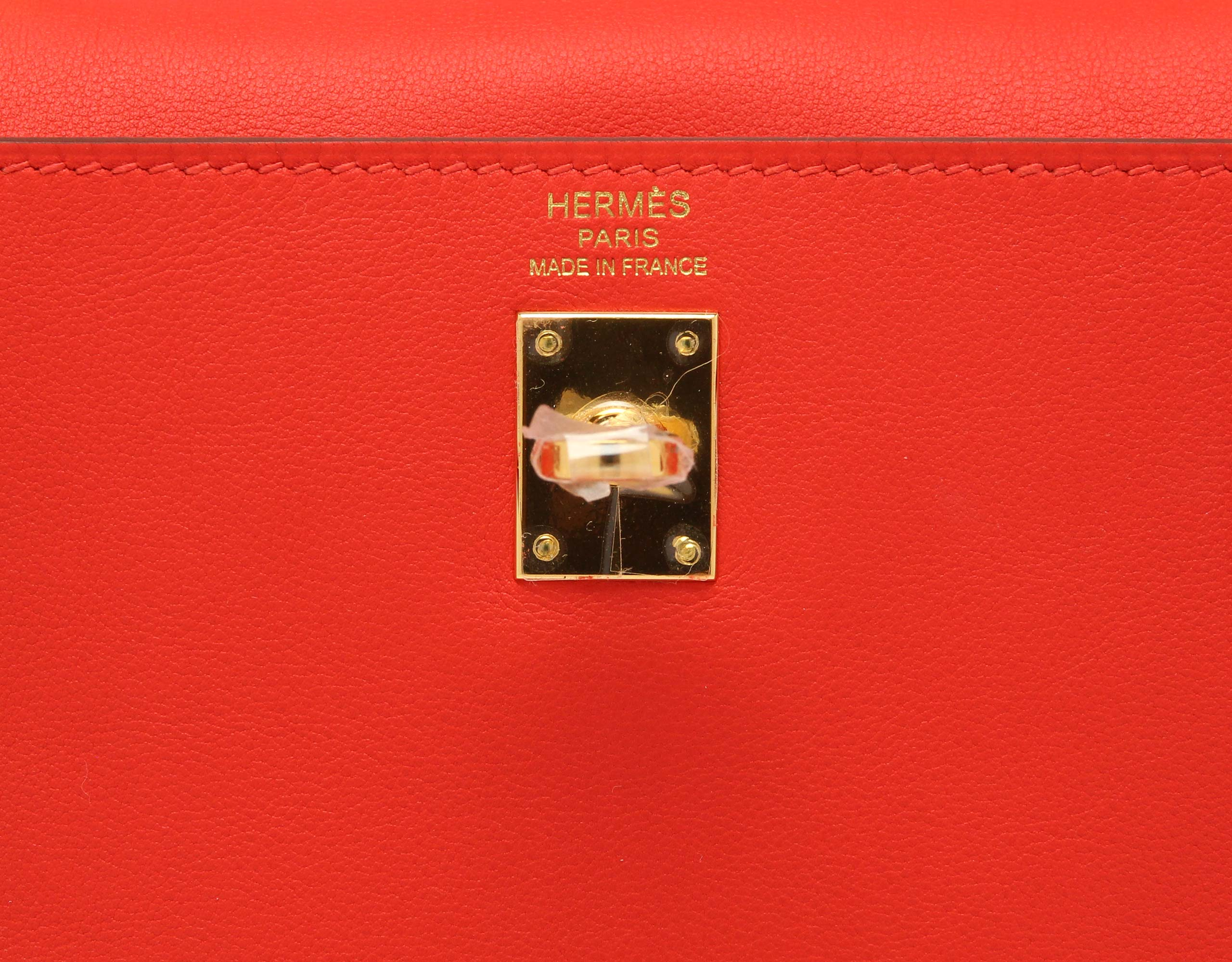 Hermes Kelly Swift Black Gold Hardware 2016