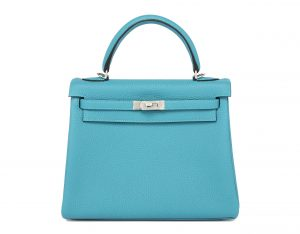 Hermes Kelly Turquoise 25cm