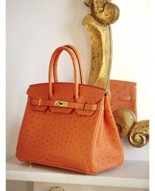Orange Hermes Kelly