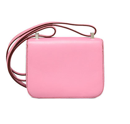 Constance Micro 14cm Bubble Gum Pink Swift with Palladium. Stamp: N Square 2011.